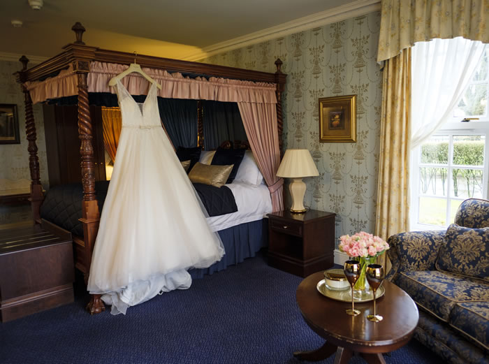 Bridal Suite at Gretna Chase Hotel
